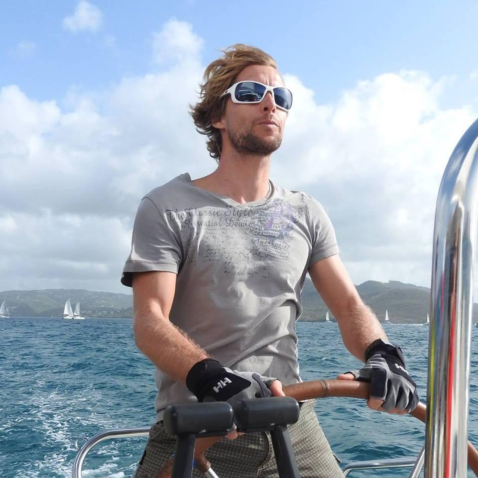 Entrainement du skipper en mer