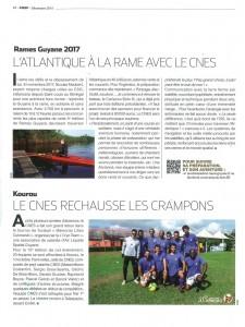 Extrait du magazine CSQP (CNES QUI SE PASSE) de décembre 2015