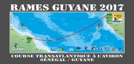 Rames Guyane 2017 - le parcours